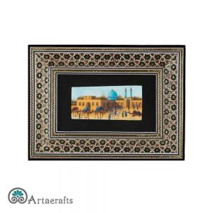 photo of miniature of caravansary