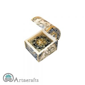 Jewelry box with shahrzad painting