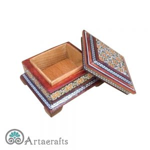 Small Inlay Jewelry Box