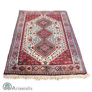 this is a picture of qashqaei carpet