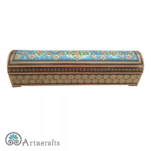 Flower Inlay Pencil Box